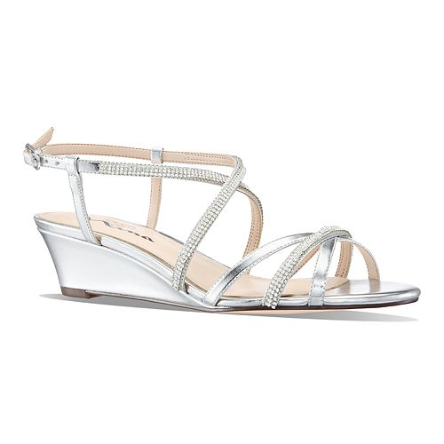 Touch of Nina Flara Women's Wedge Sandals