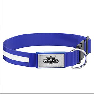 PetMaker LED Dog Collar for Night Visibility