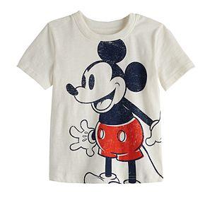 Toddler Boy Disney Jumping Beans© Mickey Mouse Short-Sleeved Slub Tee