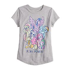 Girls 4-12 Jumping Beans® My Little Pony 'Pony Power' Graphic Tee