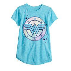 Girls 4-12 Jumping Beans® DC Comics Wonder Woman Graphic Tee