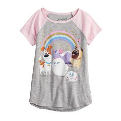 0940ade46197f Girls Jumping Beans Graphic T-Shirts Kids Tops & Tees - Tops ...