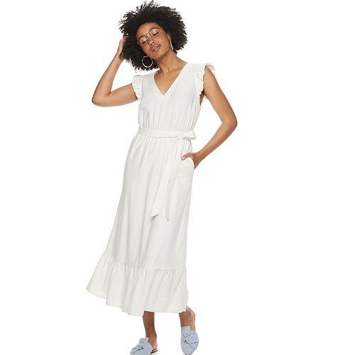 POPSUGAR Belted Maxi Dress