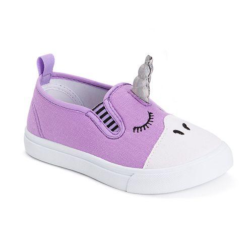 MUK LUKS Unicorn Toddler Girls' Water Resistant Sneakers