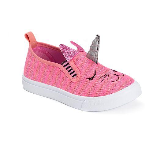 MUK LUKS Unikitten Toddler Girls' Water Resistant Sneakers