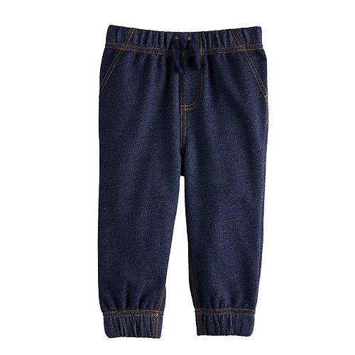 Baby Boy Jumping Beans® Denim Jogger Pants