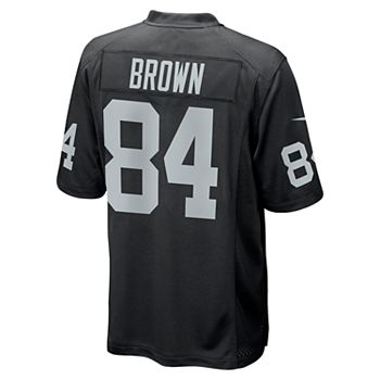 super popular 36b41 4e8ee Men's Nike Oakland Raiders Antonio Brown Jersey