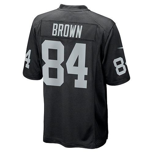 Men's Nike Oakland Raiders Antonio Brown Jersey