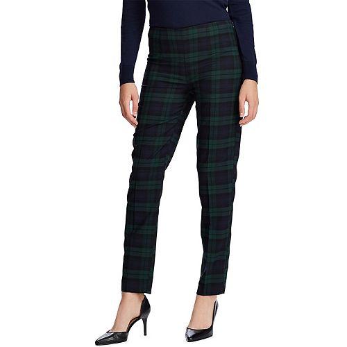Women's Chaps Sienna Plaid Pants by Chaps