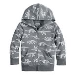 Toddler Boy Jumping Beans® Dinosaur Zip Hoodie