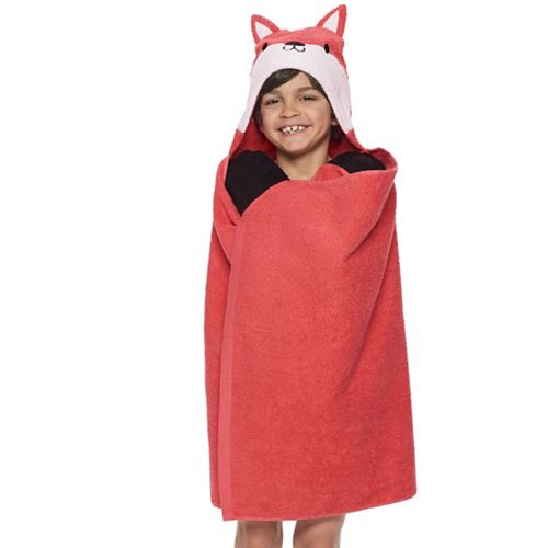 The Big One® Fox Hooded Bath Wrap