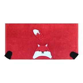 The Big One® Fox Hooded Bath Wrap