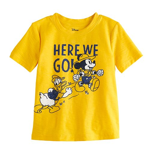 Disney's Mickey Mouse & Friends Baby Boy Mickey & Donald Graphic Tee by Jumping Beans®