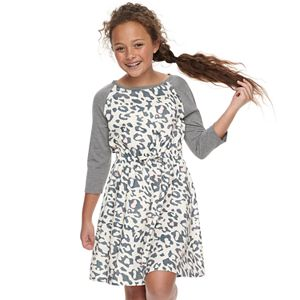 Girls 7-16 & Plus Size SO® Belted Skater Dress