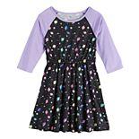 Girls SO® Raglan Varsity Dress