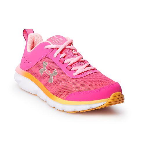 Under Armour Charged Assert 8 Grade School Girls' Running Shoes