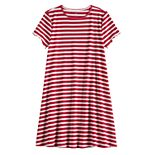 Girls 7-16 SO® Ribbed T-Shirt Dress