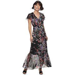 Women's Apt. 9® Ruffle Wrap Dress