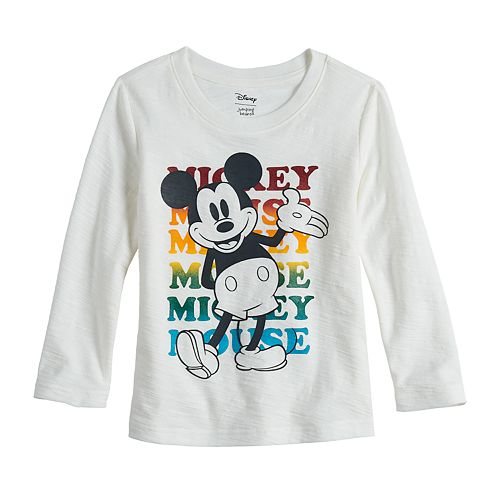 Disney's Mickey Mouse Toddler Boy Long-Sleeved Slubbed Graphic Tee by Jumping Beans®