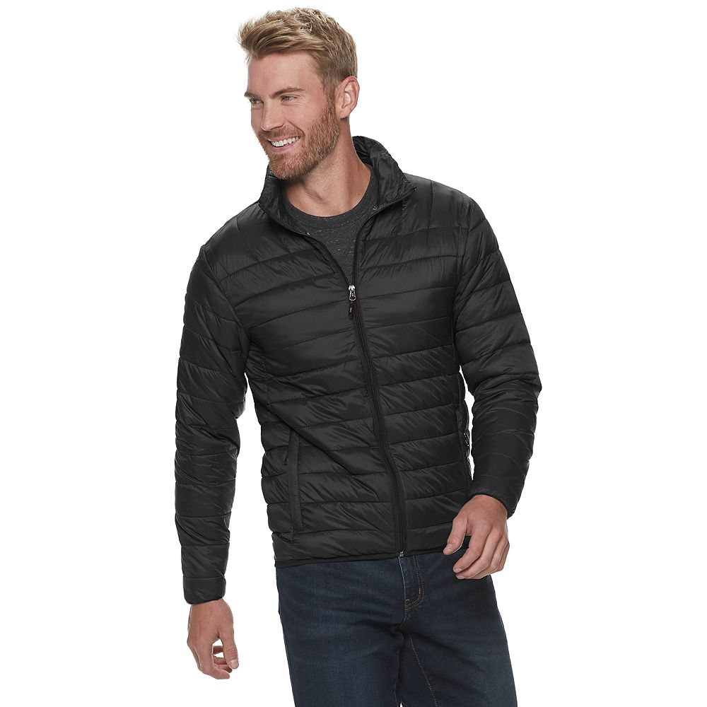 Men's Hemisphere Quilted Bomber Jacket
