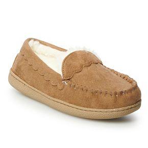 Women's SONOMA Goods for Life? Scalloped Glitter Moccasin Slippers