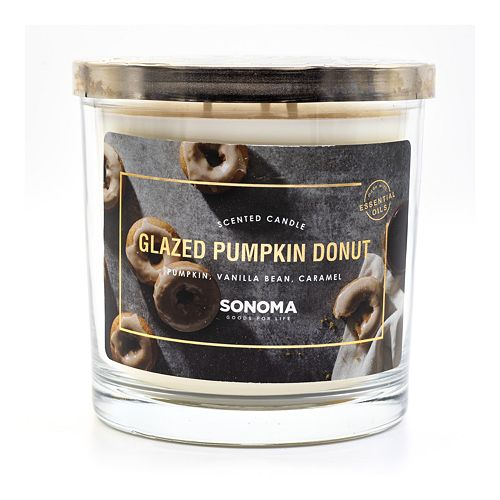 Sonoma Goods For Life™ Glazed Pumpkin Donut 14 Oz. Candle Jar by Sonoma Goods For Life