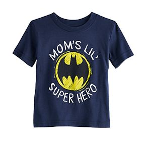 "Baby Boy Jumping Beans® DC Comics Batman ""Mom's Super Hero"" Graphic Tee"