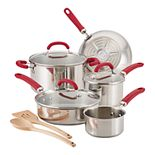Rachael Ray Create Delicious 10-pc. Stainless Steel Cookware Set