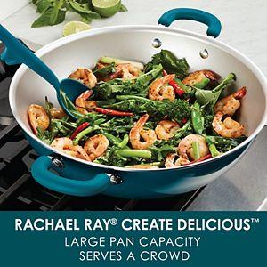 Rachael Ray Create Delicious Aluminum Nonstick Wok
