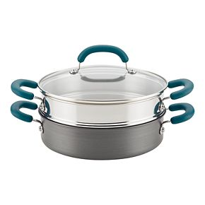 Rachael Ray Create Delicious Hard-Anodized 3-pc. Steamer Set