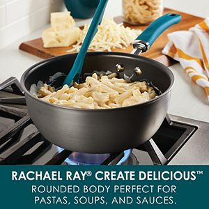 Rachael Ray Create Delicious Hard-Anodized 3-qt. Everything Pan