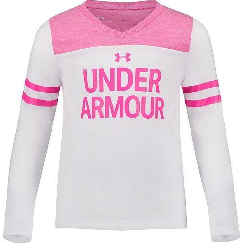 Toddler Girl Under Armour UA Wordmark Hi-Low Tee