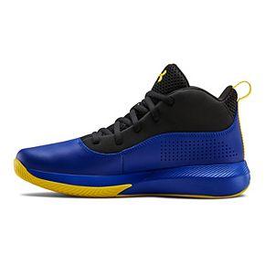 Under Armour Lockdown 4 Grade School Kids' Basketball Shoes