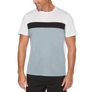 Men's Grand Slam Pieced Block Tennis Tee