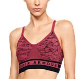 Under Armour Seamless Longline Jacquard Low-Impact Sports Bra
