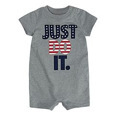 Baby Boy Nike 'Just Do It.' Patriotic Romper