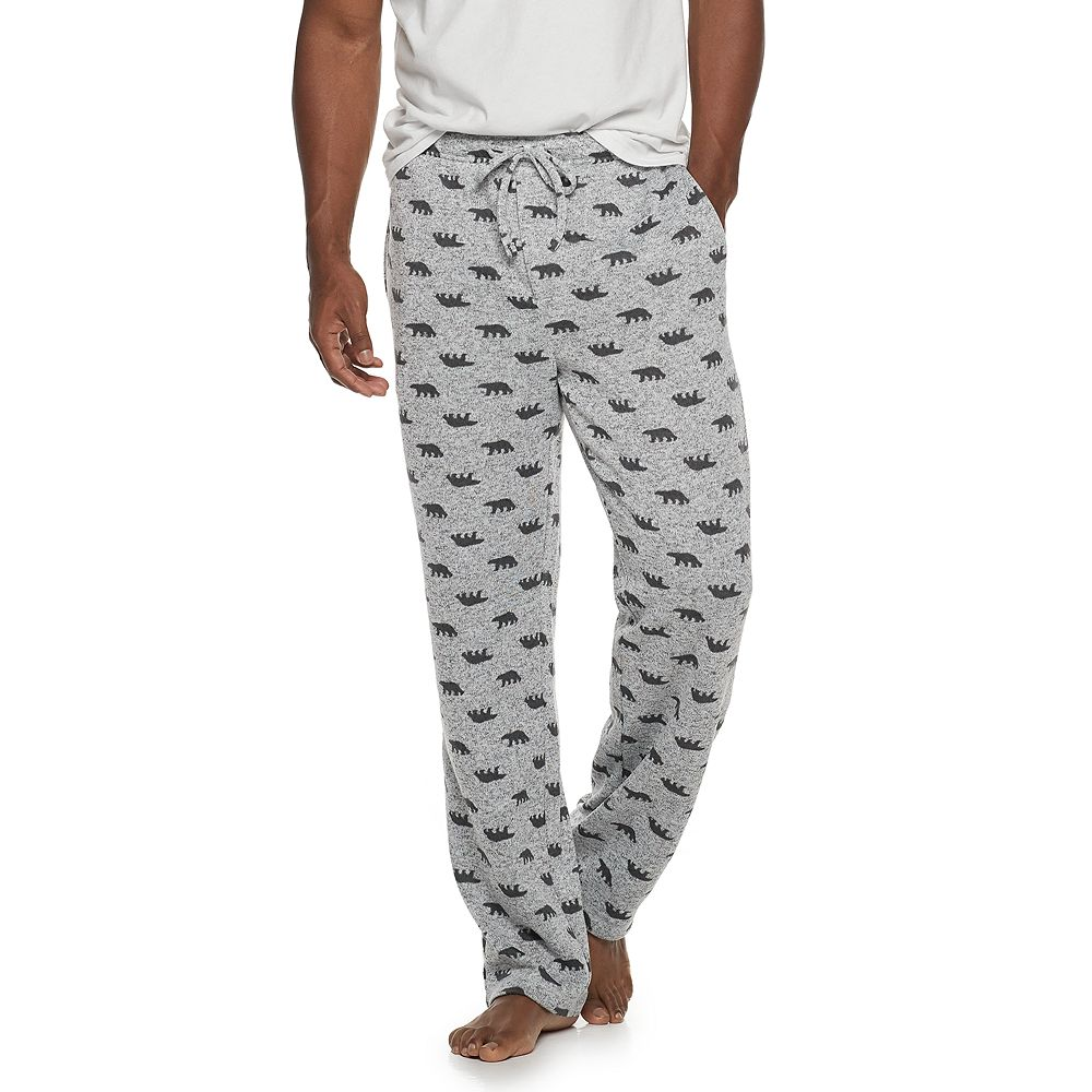 Men's SONOMA Goods for Life® Solid Sweater Fleece Pajama Pant