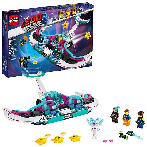 LEGO MOVIE 2 Wyld-Mayhem Star Fighter Set 70849