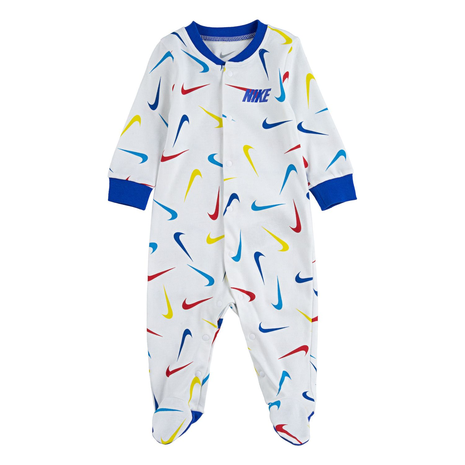 Nike Baby`s Graphic Waffle Thermal Long Sleeve Coverall