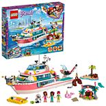 LEGO Friends Rescue Mission Boat Set 41381