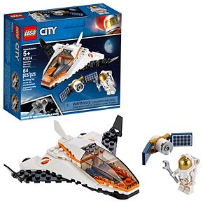 LEGO City Space Port Satellite Service Mission Set 60224