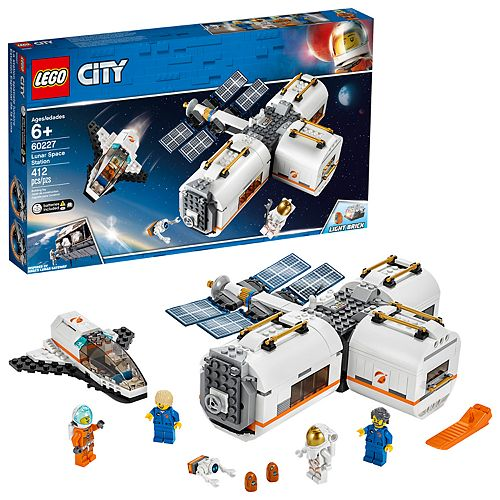 LEGO City Space Port Lunar Space Station Set 60227