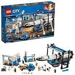 LEGO City Space Port Rocket Assembly & Transport Set 60229