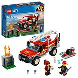 LEGO City Town Fire Chief Response Truck Set 60231