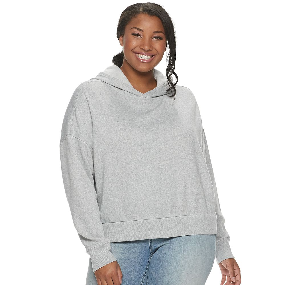 Juniors' Plus Size SO® East/West Oversized Hoodie