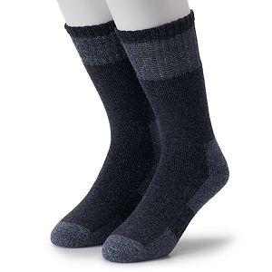 Men's IQ Brands Repreve Wool-Blend Outdoor Crew Socks (2 pack)