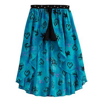 Disney D-Signed Descendants Girls 7-16 Graphic Overlay Shorts