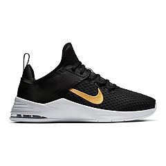 37885508 Nike Air Max Bella TR 2 Women's Training Shoes. Black Gold Gunsmoke White  ...