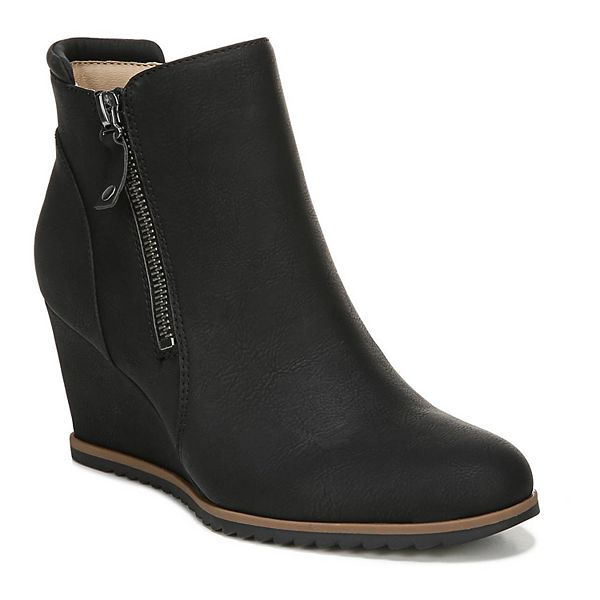 Womens Ankle Wedge Boots