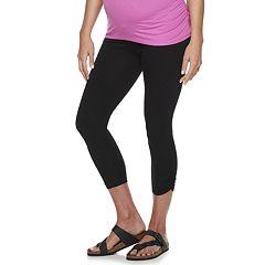 1b05ca4986163 Womens Maternity Crops & Capris - Bottoms, Clothing   Kohl's